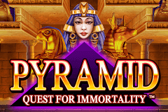logo pyramid quest for immortality netent slot game
