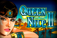 logo queen of the nile ii aristocrat slot game