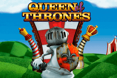 logo queen of thrones leander slot game