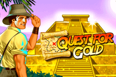 logo quest for gold novomatic slot game