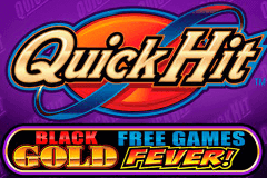 logo quick hit black gold bally slot game