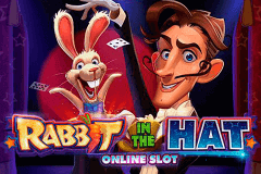 logo rabbit in the hat microgaming slot game