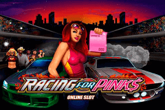 logo racing for pinks microgaming slot game