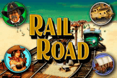 logo railroad merkur slot game