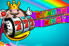 logo rainbow king novomatic slot game