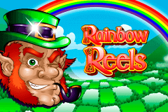 logo rainbow reels novomatic slot game