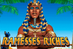 logo ramesses riches nextgen gaming slot game