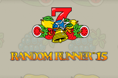 logo random runner 15 novomatic slot game