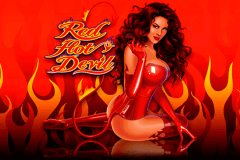 logo red hot devil microgaming slot game