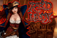 logo red lady novomatic slot game