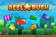 logo reel rush netent slot game