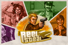 logo reel steal netent slot game