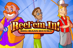 logo reelem in big bass bucks wms slot game
