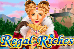 logo regal riches rtg slot game