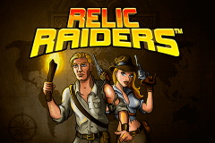 logo relic raiders netent slot game