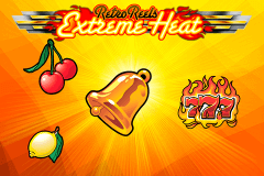 logo retro reels extreme heat microgaming slot game