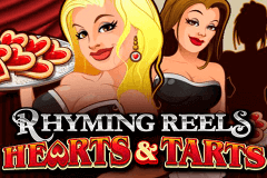 logo rhyming reels hearts and tarts microgaming slot game