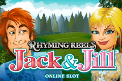 logo rhyming reels jack and jill microgaming slot game