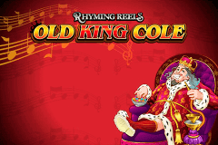 logo rhyming reels old king cole microgaming slot game