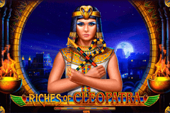 logo riches of cleopatra playson slot game