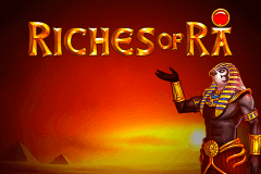 logo riches of ra playn go slot game