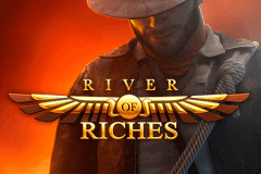 logo river of riches rabcat slot game