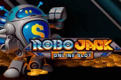 logo robojack microgaming slot game