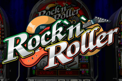 logo rocknroller playtech slot game
