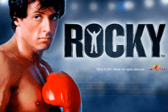 logo rocky playtech slot game