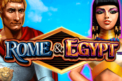 logo rome egypt wms slot game
