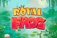 logo royal frog quickspin slot game