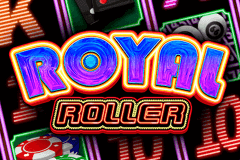 logo royal roller microgaming slot game