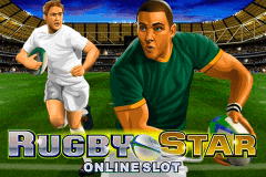 logo rugby star microgaming slot game