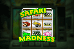 logo safari madness netent slot game