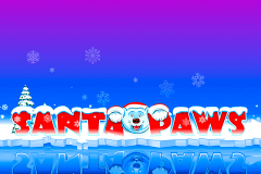 logo santa paws microgaming slot game