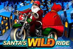 logo santas wild ride microgaming slot game