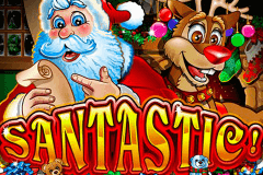 logo santastic rtg slot game