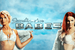 logo scandinavian babes playn go slot game