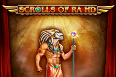 logo scrolls of ra hd isoftbet slot game