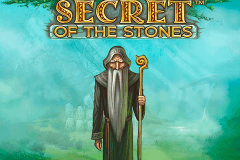 logo secret of the stones netent slot game