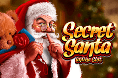logo secret santa microgaming slot game