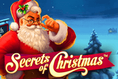 logo secrets of christmas netent