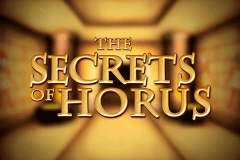 logo secrets of horus netent slot game