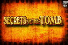 logo secrets of the tomb leander slot game