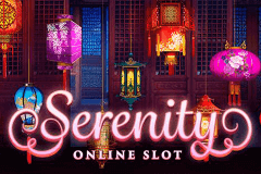 logo serenity microgaming slot game