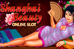 logo shanghai beauty microgaming slot game