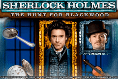 logo sherlock holmes the hunt for blackwood igt slot game