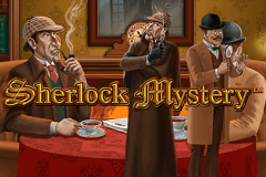 logo sherlock mystery playtech slot game