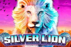 logo silver lion lightning box slot game