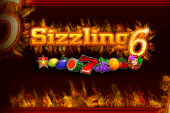 logo sizzling 6 novomatic slot game
